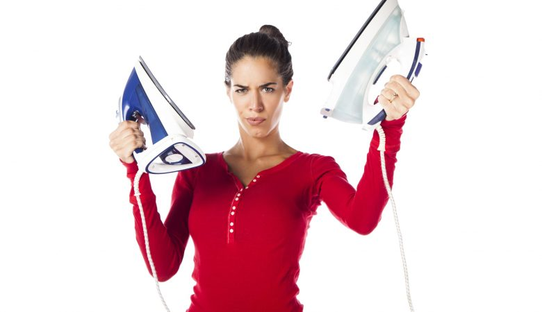 dry iron vs steam iron