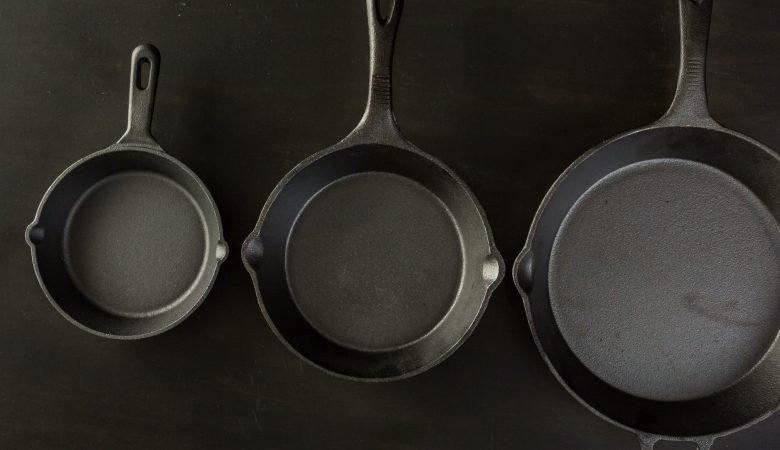 Cast iron vs nonstick cookware