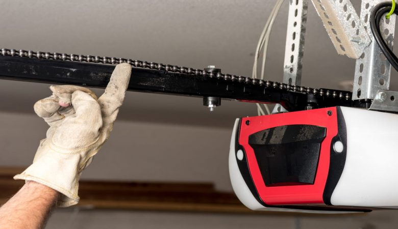 how to fix garage door off track