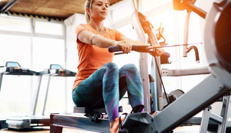 Rowing machine benefits