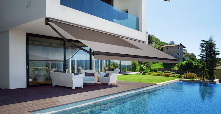 electric retractable awning for house