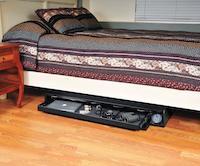Under-the-bed gun safe