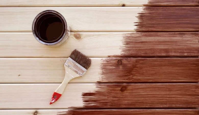 paint or stain deck