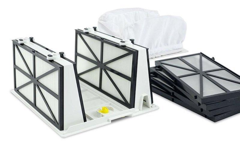pool vacuum filters