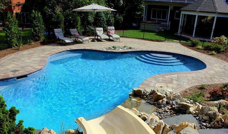 swimming pool shape