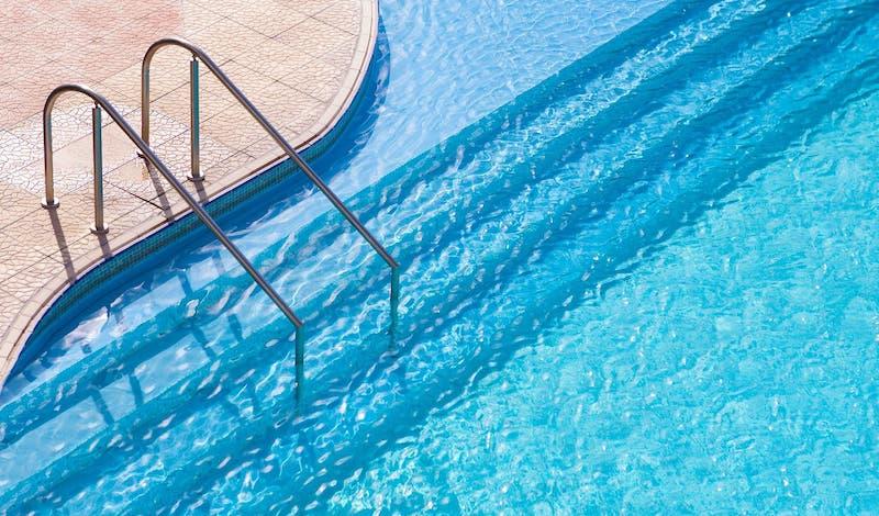 swimming pool floor surface